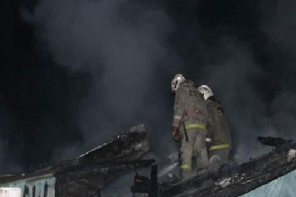 В Брянском районе сгорел дачный дом