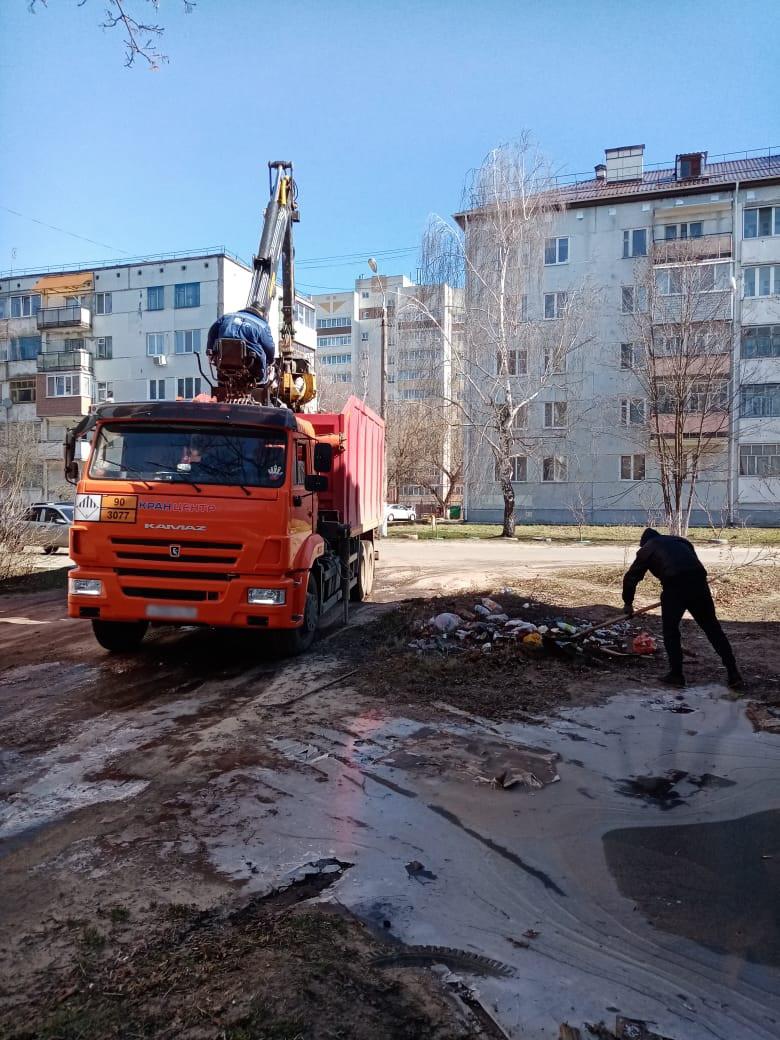 В Клинцах ликвидировали свалку рядом с детским садом «Земляничка»