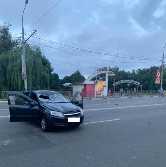Сбитый на улице Ульянова пешеход впал в кому
