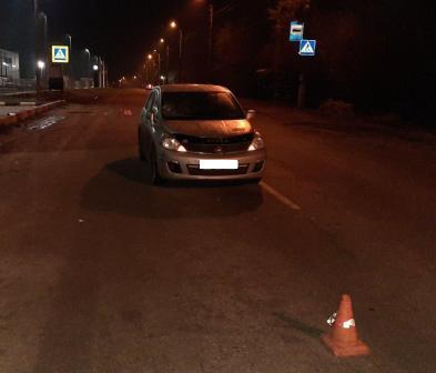 В брянском поселке нетрезвый пешеход оказался под колесами иномарки