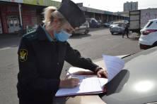 Боясь лишиться своей Kia Rio, брянчанка оплатила сразу 56 штрафов