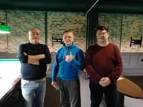 СотрудникиБрянскэнерго и БрянскЭлектро сразились в бильярдном поединке